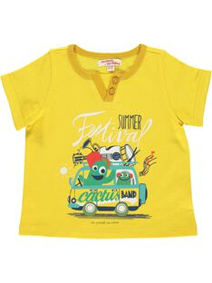 Tee-shirt manches courtes bébé garçon CUPITI4 / 18SG10I4TMC412