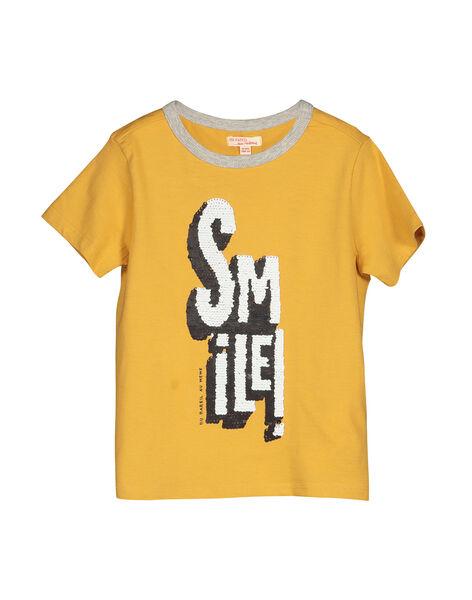 Tee-shirt manches courtes garçon FOLITI1 / 19S90221TMCB107