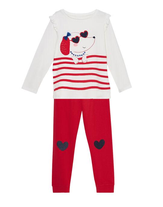 Pyjama Ecru JEFAPYJANI / 20SH1124PYJ001