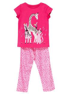Pyjama Rose JEFAPYJSAV / 20SH1123PYJF507