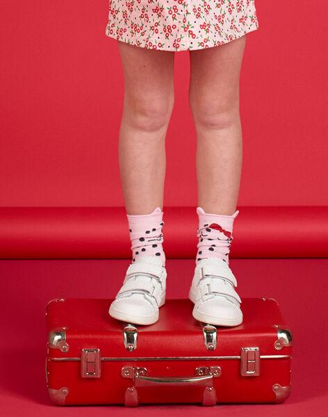 Paire de chaussette enfant fille LYAROUCHO / 21SI01K1SOQ309