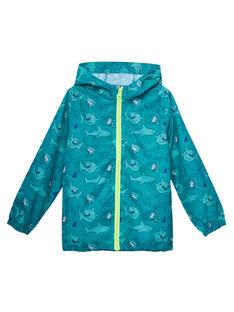 Veste imperméable qui se range dans la poche imprimé requins JOGROKA2 / 20S902I2BLOC217