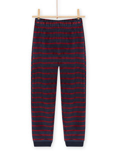 Ensemble pyjama motif monstre détails phosphorescents enfant garçon MEGOPYJMON / 21WH129APYJ719