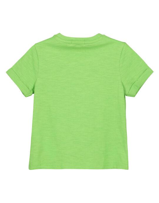 Tee-shirt imprimé garçon FOYETI7 / 19S902M7TMC603
