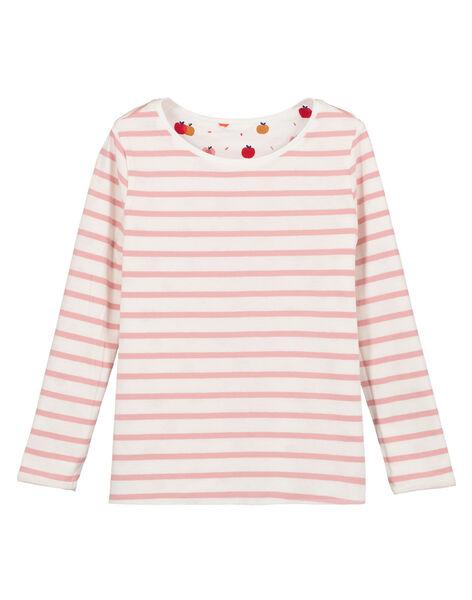 Tee Shirt Manches Longues Ecru GASANTEE2 / 19W901C3TML001