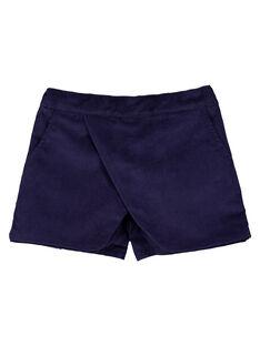 Short effect jupe en velours GAMUSHORT / 19W901F1SHO070