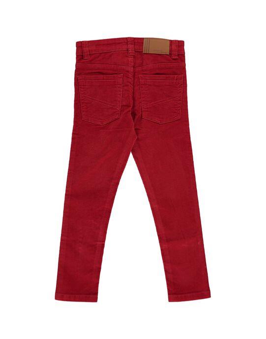 Pantalon slim en velours garçon DOJOPAVEL1 / 18W90233D2B505