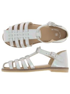Sandale en cuir fille CFSANDIRIS / 18SK35WBD0E001