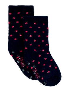 Paire de chaussettes layette fille  KYIJOCHOB6 / 20WI0942SOQ070