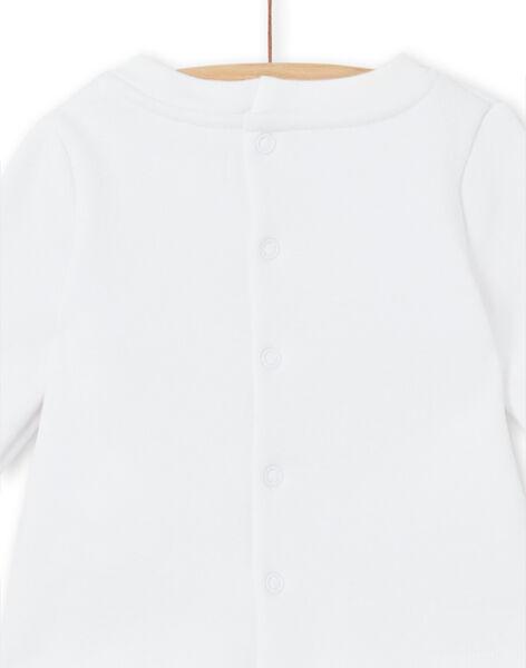 Ensemble T-shirt doublé imprimé et legging en velours côtelé naissance mixte LOU1ENS5 / 21SF04H2ENS000