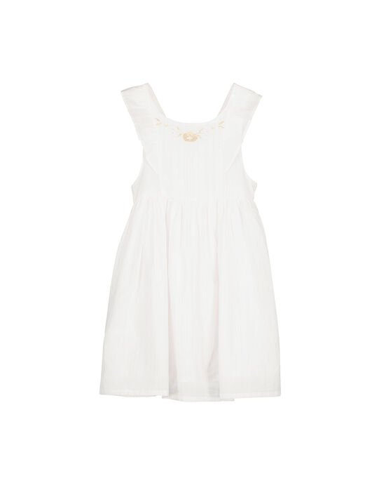 Robe sans manches fille FAPOROB1 / 19S901C1ROB000