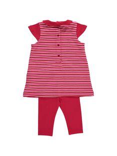 Ensemble robe et legging bébé fille DIROUENS / 18WG0921ENS099