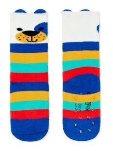Paire de chaussettes layette garçon KYULUCHO2B / 20WI10P1SOQ001