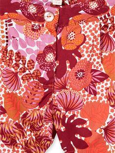 Short imprimé fleurie LATERSHORT2 / 21S901V3SHO001