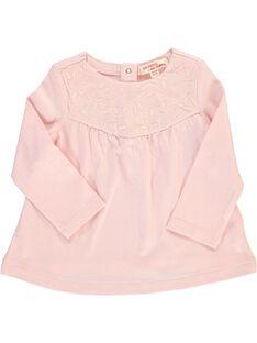Tee-shirt manches longues bébé fille CIJOTEE4 / 18SG09R5TML321