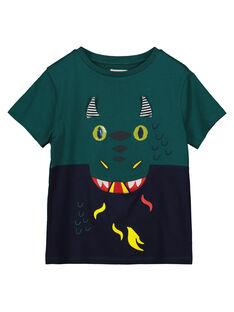 Tee Shirt Manches Courtes Bicolore Poche fantaisie GOVETI2 / 19W90221TMCG614