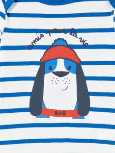 Body marinière manches longues motif chien LEGABODOG / 21SH142ABDL001
