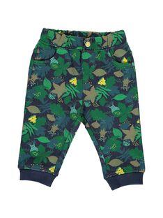 Pantalon en molleton bébé garçon DUVEPAN3 / 18WG1073PAN099