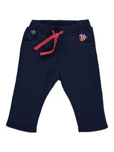 Pantalon en molleton doublé sherpa bébé garçon DUNAUPAN3 / 18WG10G3PANC205