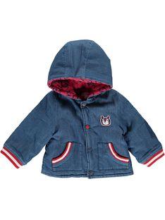 Veste à capuche bébé garçon CUDEVES / 18SG10F1VES704