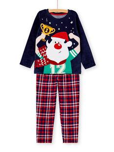 Pyjama Bleu marine KEGOPYJNOFO / 20WH12R3PYJ705