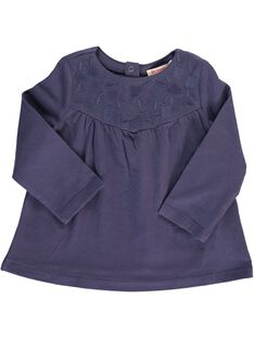 Tee-shirt manches longues bébé fille CIJOTEE3 / 18SG09R3TML705