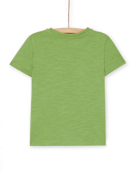 Tee Shirt Manches Courtes Vert LOJOTI6 / 21S90236TMCG626