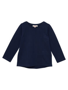 Tee Shirt Manches Longues Bleu marine JAESTEE2 / 20S90165D32070