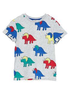 Tee Shirt Manches Courtes Gris JOGRATI1 / 20S902E3TMCJ920