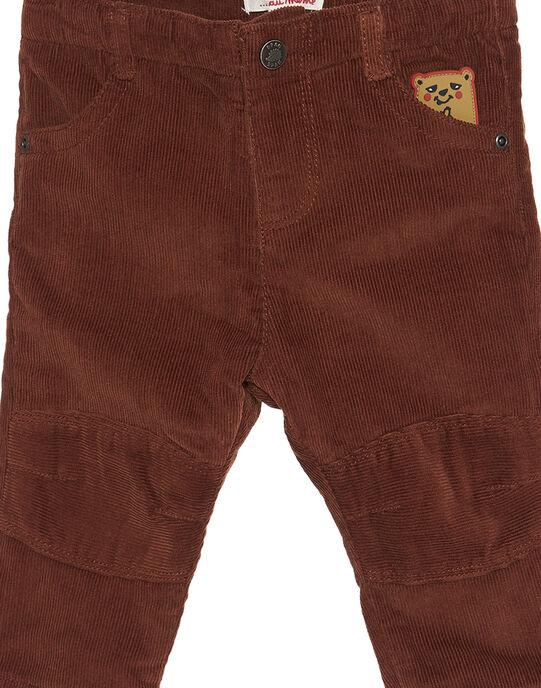 Pantalon Marron GUBRUPAN2 / 19WG10K2PAN809