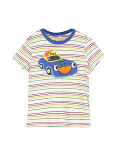 Tee-shirt manches courtes garçon FOCOTI3 / 19S90283TMC099