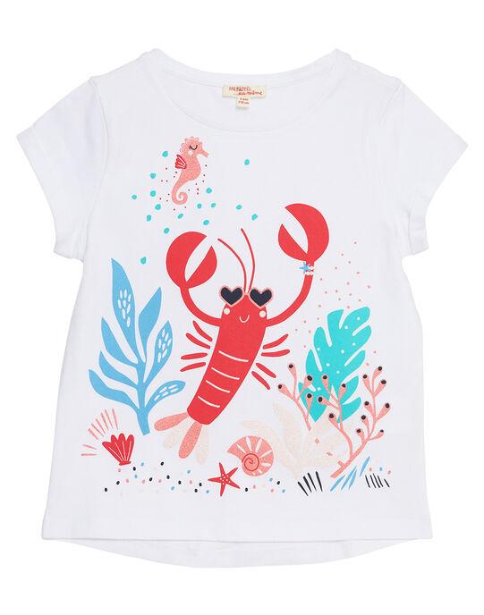 T-shirt manche courte, imprimé homard  JACEATI1 / 20S901N2TMC000
