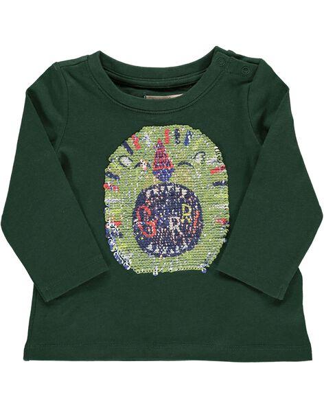 Tee-shirt à sequins réversibles bébé garçon DUVIOTEE1 / 18WG10H1TML060