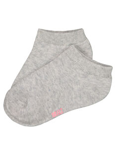 Chaussettes unies fille FYAJOCHO10A / 19SI01G7SOQ943
