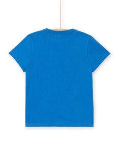 Tee Shirt Manches Courtes Bleu LOBLETEE2EX / 21S902J1TMC702