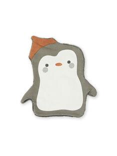 Doudou plat à bruit pingouin KOU2DOU1 / 20WF4221JOU929