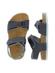 Sandale en cuir garçon CGNUBICO / 18SK36W5D0E070