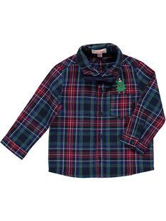 Chemise à carreaux bébé garçon DUCRACHEM / 18WG10R1CHM099