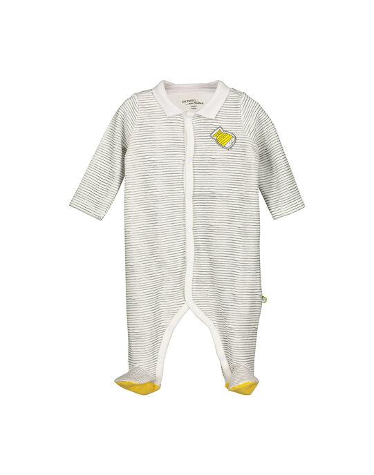 Dors-bien en velours bébé mixte FOU1GRE3 / 19SF0513GRE099