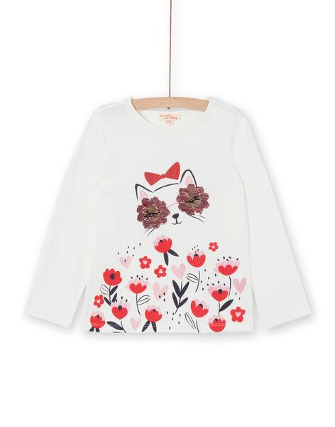 Tee Shirt Manches Longues Ecru LAROUTEE2 / 21S901K2TML001