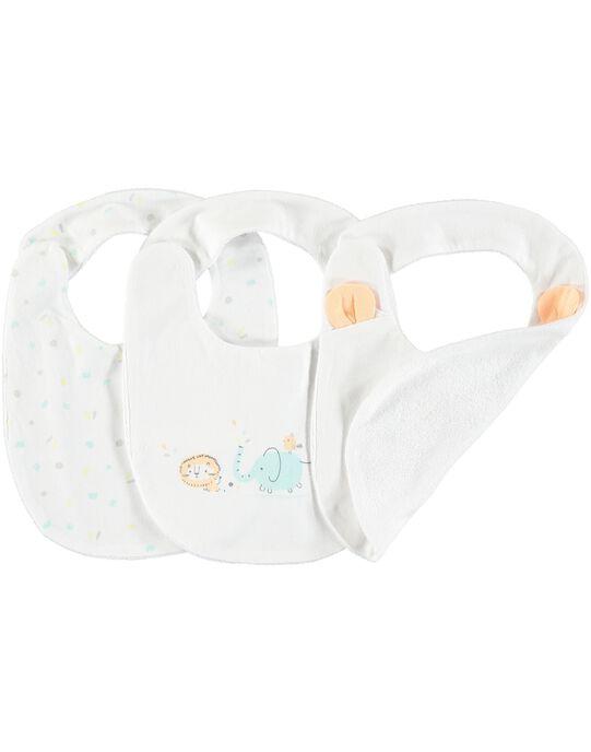 Lot de bavoirs bébé mixtes CACMBAVOIR2 / 18SF42C1BAV000
