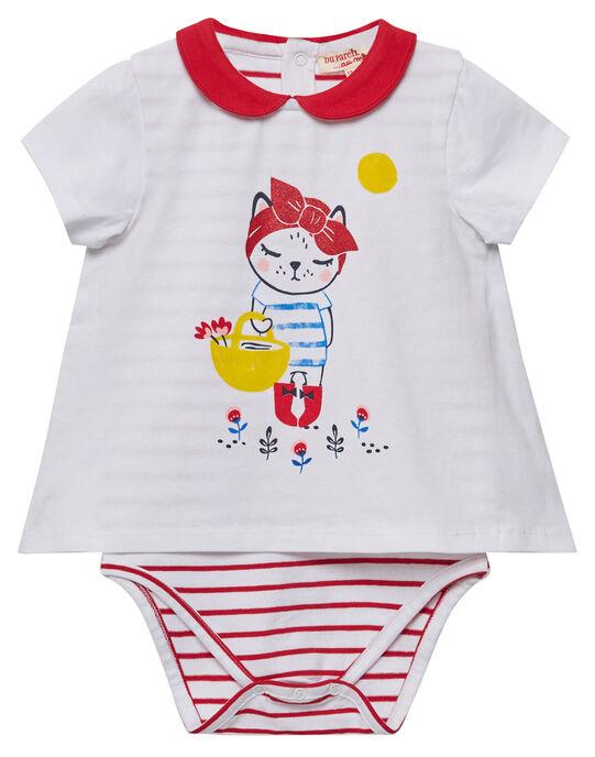 Body effet faux double bébé fille JIGRABODY / 20SG09E1BOD001