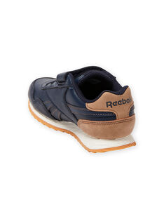 Baskets Reebok bleu marine à détails marron enfant garçon MOG58316 / 21XK3644D36070