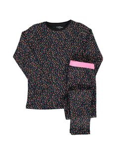 Pyjama en coton fille DEFAPYJETO / 18WH1146PYJ099