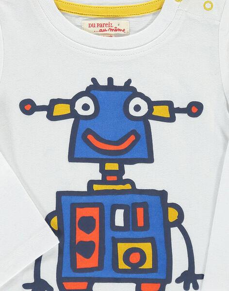 Tee-shirt manches longues bébé garçon DUBLETEE4 / 18WG1094TMLA001
