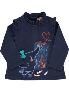 Tee-shirt manches longues bébé fille DIBLETEE / 18WG0991TMLC205