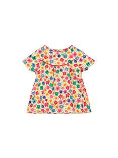 Chemisier imprimé bébé fille FICOCHEM / 19SG0981CHE000
