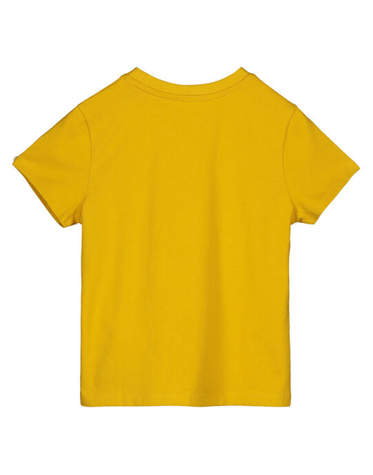 Tee shirt Manches Courtes Jaune GOBLETEE2EX2 / 19W90293TMC109