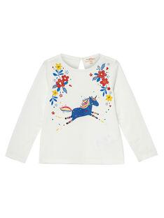 Tee Shirt Manches Longues Ecru JAGRATEE1 / 20S901E2TML001