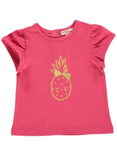 Tee Shirt Manches Courtes Rouge CIJOTI2 / 18SG09R2TMCF503